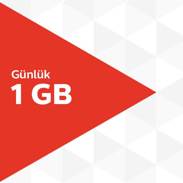 Günlük 1GB İnternet Paketi