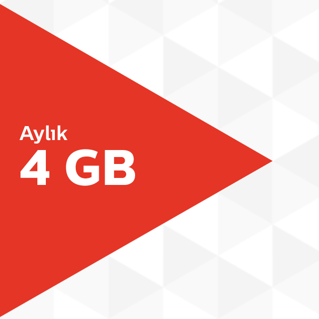 Aylık 4GB İnternet Paketi