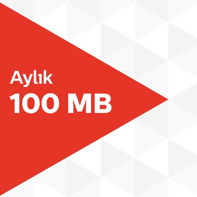 Aylık 100MB İnternet Paketi