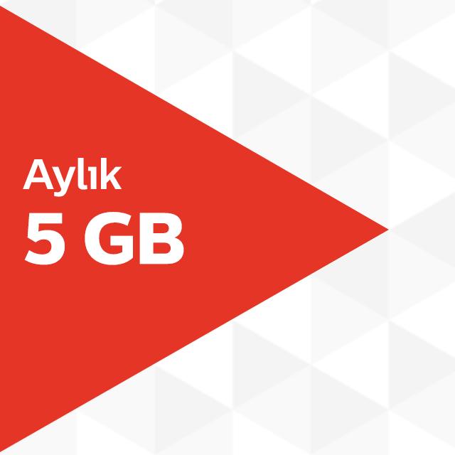 Aylık 5GB İnternet Paketi
