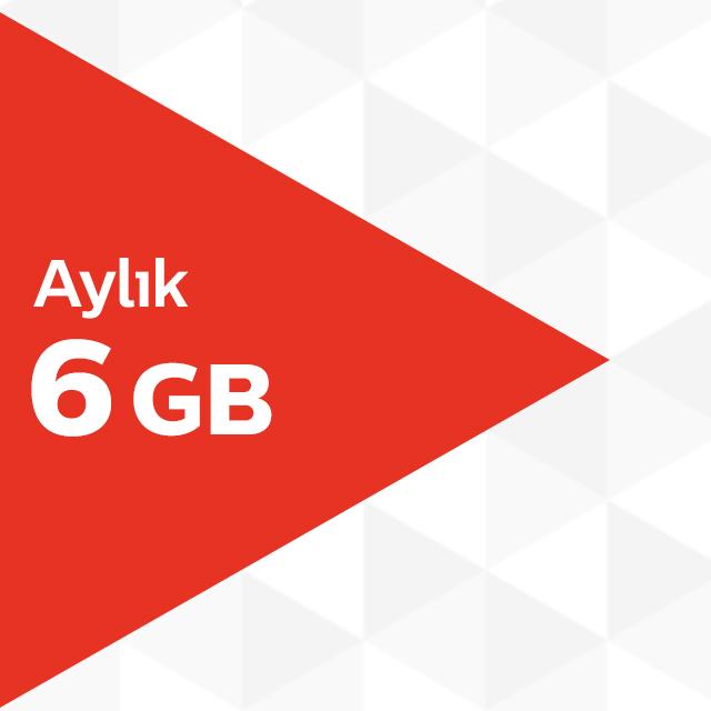 Aylık 6GB İnternet Paketi