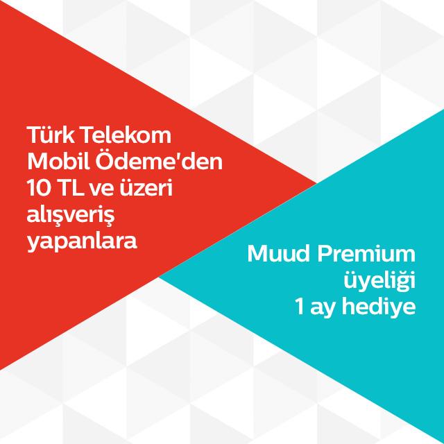 Türk Telekom Mobil Ödeme'den Türk Telekom Müzik Premium Üyelik Hediye!