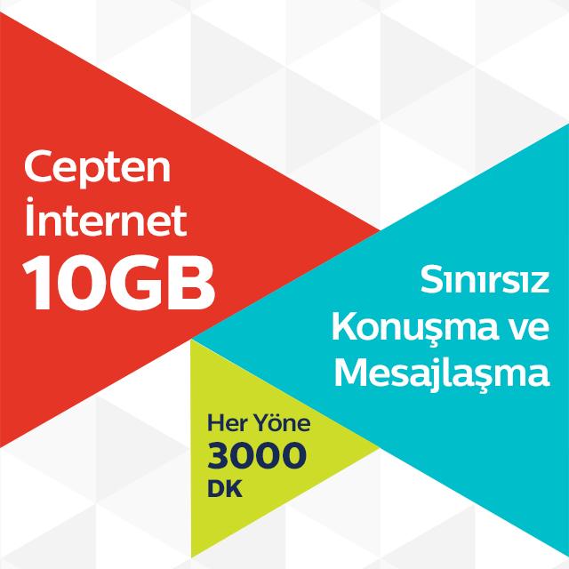 Ultra 10 GB Tarifesi