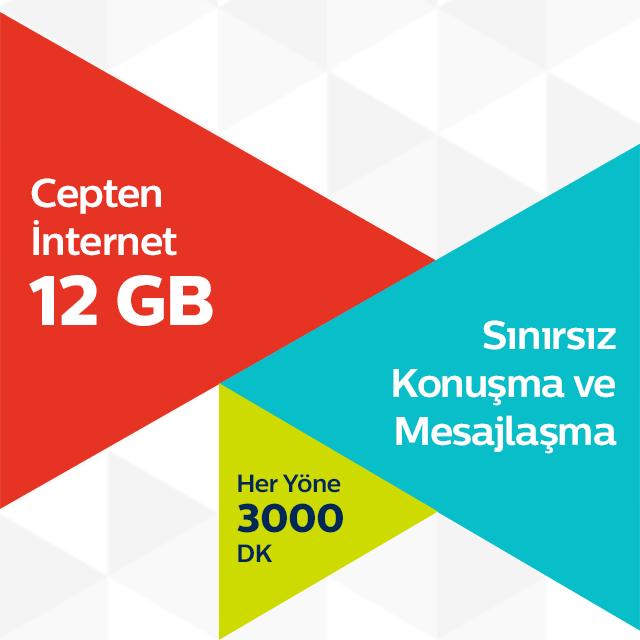 Ultra 12 GB Tarifesi