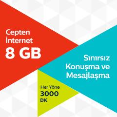 Ultra 8 GB Tarifesi